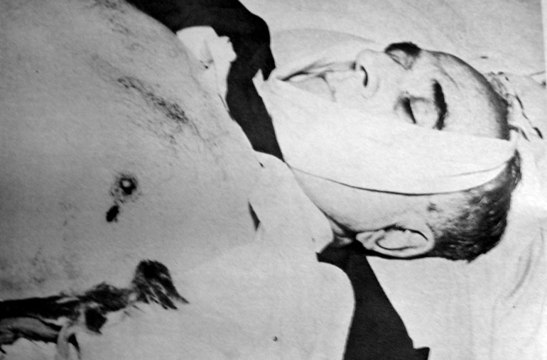 Getúlio Vargas Morto. Carta Testamento