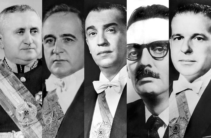 Presidentes depois de Getúlio Vargas