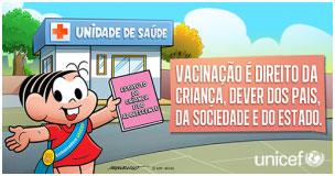 Campanha de Vacinação no Brasil: Mônica