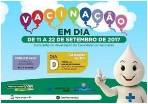 Vanicação em queda no Brasil: Zé Gotinha